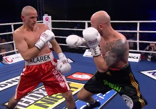 Robert Talerek na Polsat Boxing Night